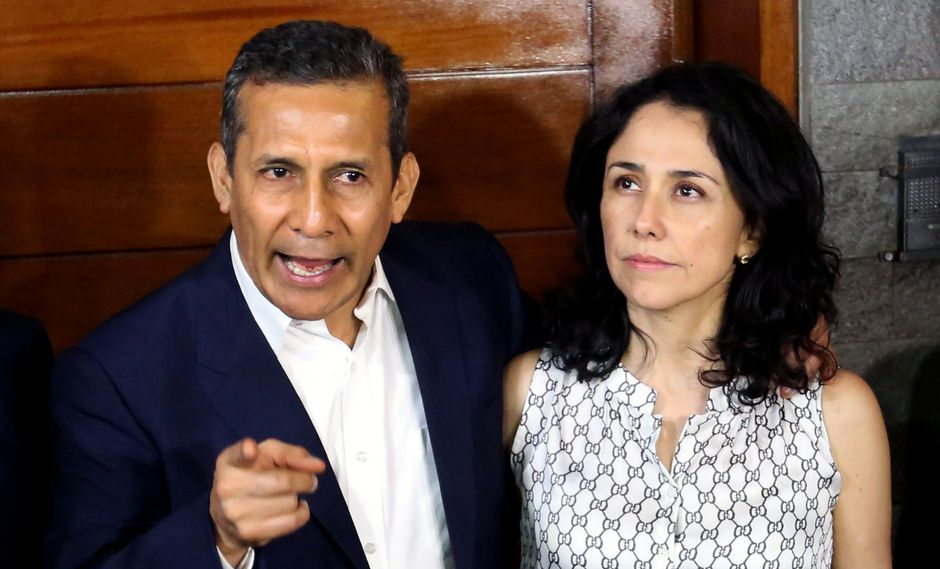 Ollanta Humala y Nadine Heredia rechazan las imputaciones (GEC).