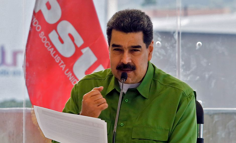 Nicolás Maduro se defiende en entrevista con el diario Folha de Sao Paulo. (Foto: AFP)
