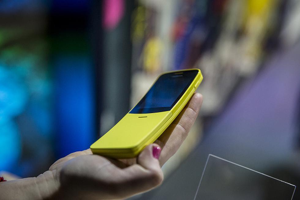 La nostalgia es un factor el cual Nokia quiere aprovechar en sus nuevos teléfonos, y así lo hace en el marco del Mobile World Congress 2018 (MWC) que se celebra en Barcelona. (Getty)