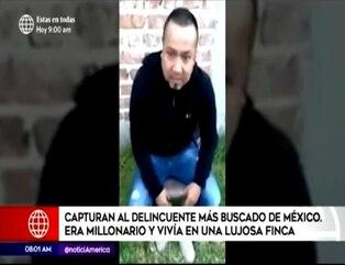 """México: capturan a José Yépez """"El Marro"""" líder del cartel Santa Rosa de Lima"""