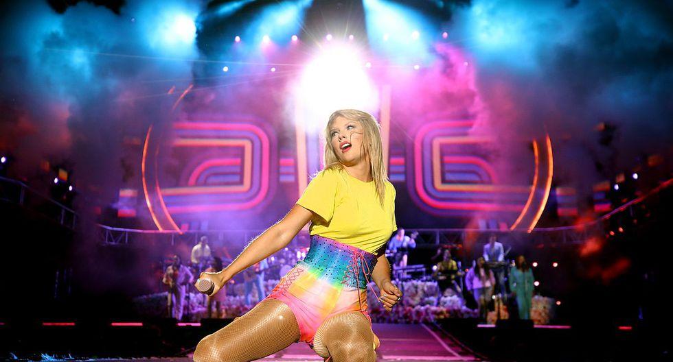 """Taylor Swift lanzará línea de ropa inspirada en su nuevo álbum """"Lover"""". (Foto: AFP)"""