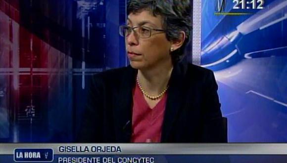 Gisella Orjeda fue entrevistada anoche en Canal N. (Captura de video de Canal N)