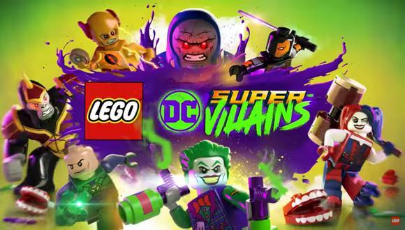 LEGO DC Super-villains llegará a PS4, Xbox One, Nintendo Switch y PC el próximo 19 de octubre.