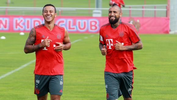 ¿Al FC Barcelona? Arturo Vidal abandonó la concentración de Bayern Munich. (Twitter Bayern Munich)
