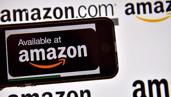 Amazon fue la compañía más valiosa por pocos segundos en la jornada del lunes en Wall Street. (Foto: AFP)