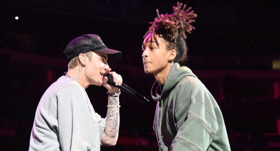 Justin Bieber y Jaden Smith estarían trabajando en un misterioso video musical. (Foto: AFP)