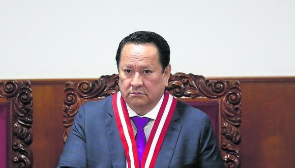 Sobre Luis Arce Córdova, quien fue suspendido como magistrado del Pleno del Jurado Nacional de Elecciones (JNE), pesa una orden de impedimento de salida del país por 18 meses. (Foto: Alessandro Currarino / GEC)