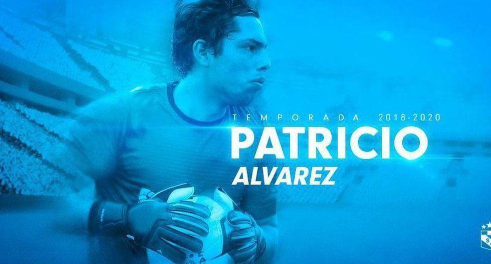 Patricio Álvarez, de 23 años, firmó por Sporting Cristal tras una exitosa experiencia en Melgar de Arequipa. (@ClubSCristal)