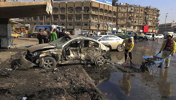 Irak: 75 muertos por cadena de atentados en Bagdad y otras zonas. (Reuters)