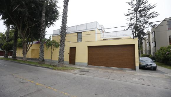 Vivienda de Alan García en Miraflores. (Mario Zapata/GEC)