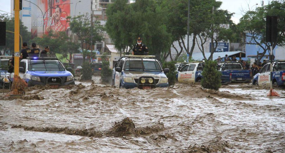 La zona norte del país es constantemente afectada por lluvias torrenciales. (GEC)