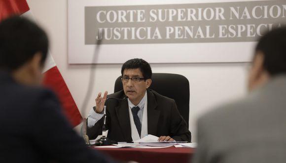 Richard Concepción Carhuancho es juez de turno durante el estado de emergencia decretado por el gobierno. (Foto: GEC)