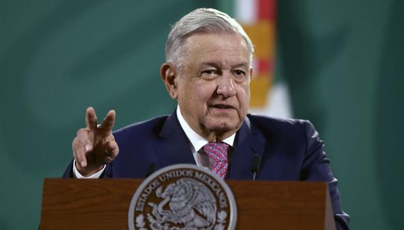 AMLO presume que no hay vacunación secreta contra el coronavirus de altos funcionarios mexicanos. (Foto: ALFREDO ESTRELLA / AFP).