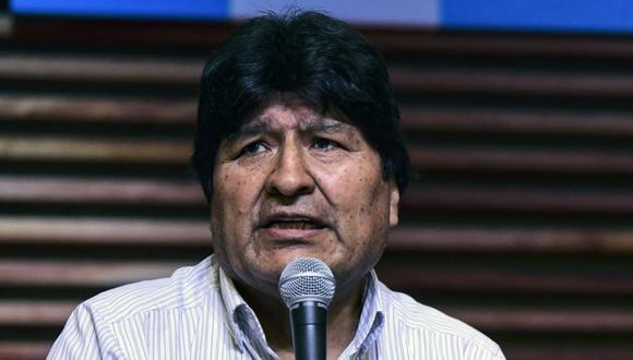 Evo Morales dice que su regreso a Bolivia podría ser el 9 de noviembre. (RONALDO SCHEMIDT/AFP).
