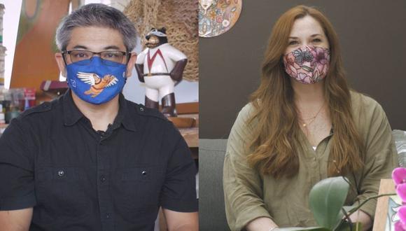 Escultor Aldo Shiroma y más artistas peruanos lanzan colección de mascarillas. (Foto: Difusión)