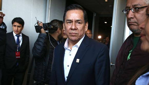 José Vega, congresista de UPP, no descartó la posibilidad de presentar una moción de censura contra los ministros interpelados. (Foto: Andina)