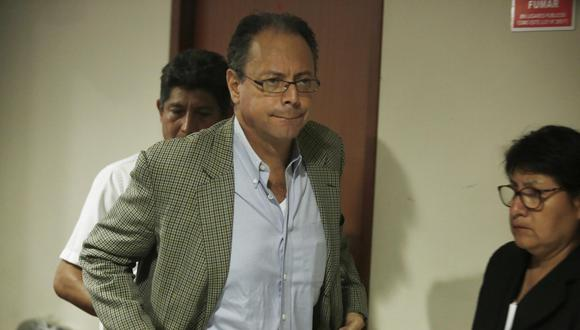 Carlos García Alcázar, ex asesor del Viceministerio de Transportes, es sindicado de haber favorecido al Club de la Construcción. (César Campos)