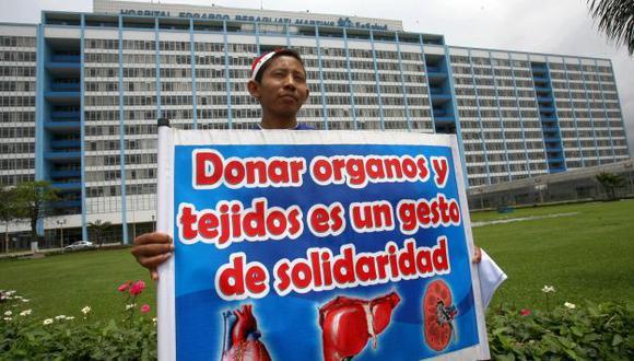 Se busca incrementar la donación de órganos del 30% al 40%. (USI)