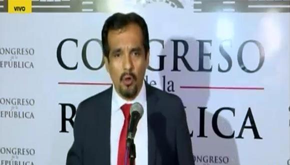 Congresista Humberto Morales amenazó con dejar la comisión Lava Jato por actitud de Fuerza Popular. (Video: RPP TV)