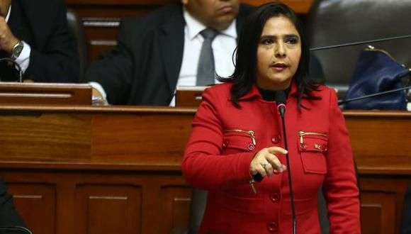 Ministra Ana Jara no niega relevos en el gabinete ministerial. (Rafael Cornejo)