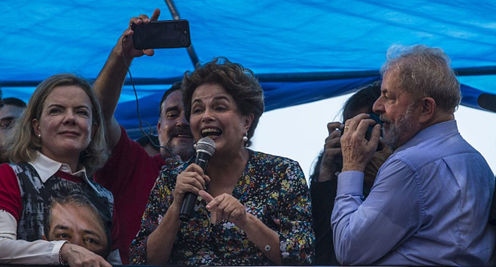 Dilma Rousseff. (Getty Images)