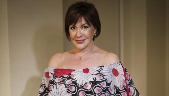 La actriz nacional, Yvonne Frayssinet. (Atoq Ramón)