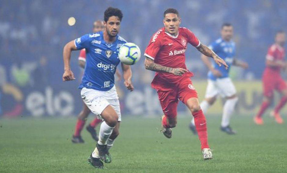Paolo Guerrero tiene tres goles en lo que va de la temporada en el Braisleirao. (Foto: SC Internacional)