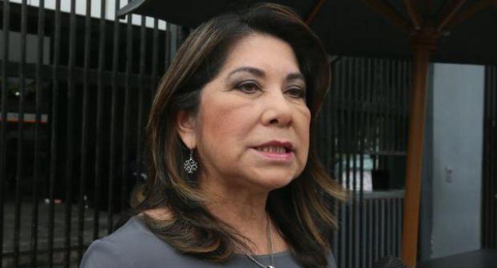 Martha Chávez también dijo que habló con Keiko Fujimori sobre la huelga de hambre de Mark Vito. (Foto: GEC)