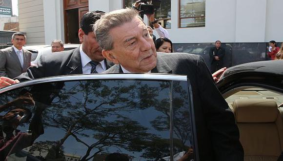 Roncagliolo estuvo en el Congreso.  (Martín Pauca)