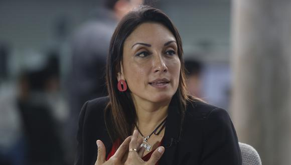 """Patricia Donayre señaló que Fuerza Popular """"insiste en el blindaje"""" a actos que """"lindan con lo delictivo"""". (Foto: GEC)"""