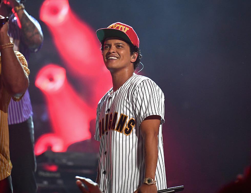 Bruno Mars (Getty)