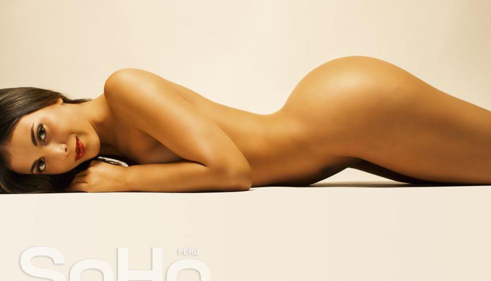 Mónica Rincón hizo un desnudo total para la revista Soho Perú. (Soho Perú)