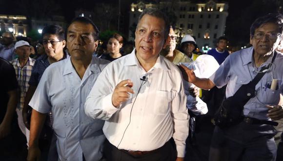 Marco Arana es el candidato presidencial del Frente Amplio para los comicios del 11 de abril del 2021. (Foto: Alessandro Currarino / GEC)