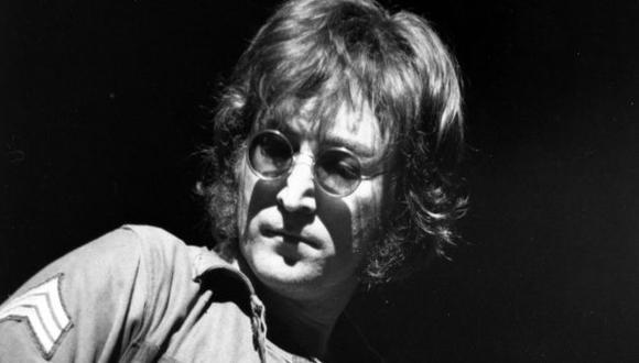 John Lennon durante concierto en el  Madison Square Garden en 1972. (AP)