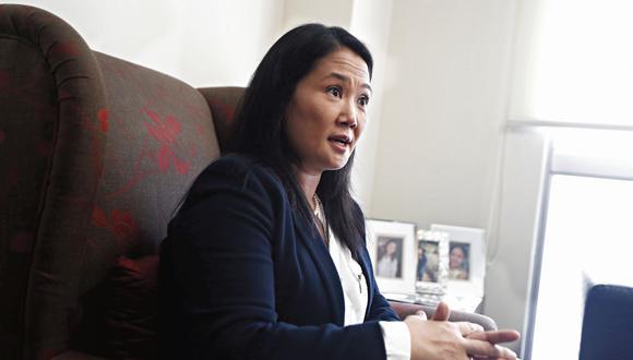 Keiko Fujimori. Lideresa del partido político Fuerza Popular. (César Campos)