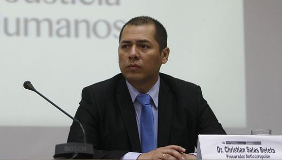 Lo avala. Procurador anticorrupción Christian Salas dijo que no se atenta contra la autonomía. (Nancy Dueñas)