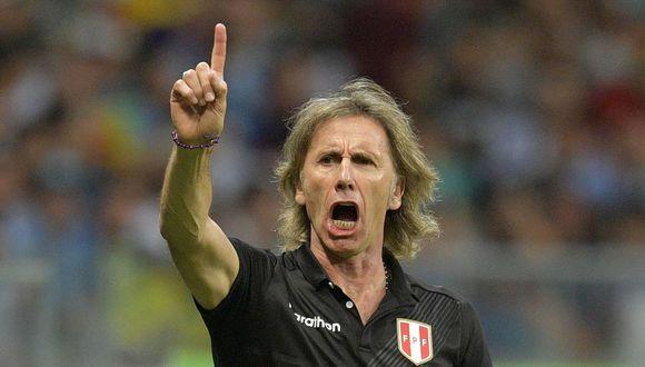 Gareca volverá a enfrentar a Argentina como seleccionador de Perú en la cuarta jornada de las Eliminatorias a Qatar 2022.  (Foto: AFP)