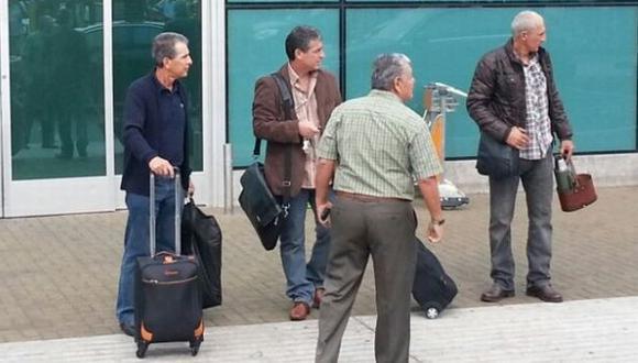 Pablo Bengoechea llegó esta mañana a Lima. (Depor)