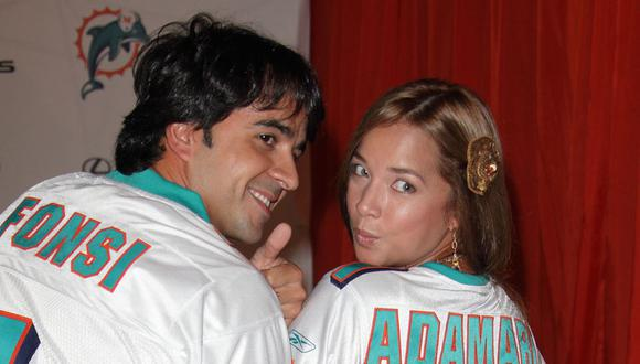Adamari López y Luis Fonsi, ¿cómo se conocieron? La historia de amor que terminó muy mal (Foto: People)