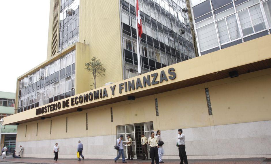 El Ministerio de Economía y Finanzas distribuirá los recursos asignados. (Foto: GEC)