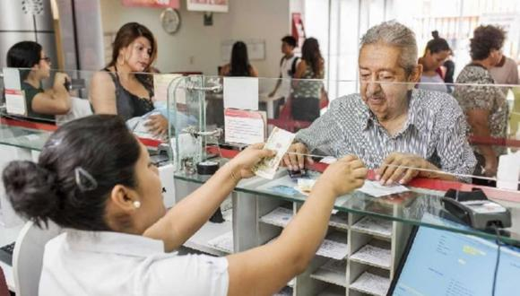 La fecha del abono será según el cronograma de pago de pensiones de julio. (Foto: Andina)
