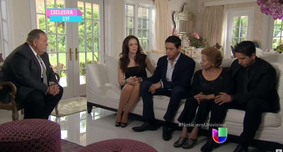 Juan Gabriel: Su hijo contó el motivo por qué fue cremado el cantante mexicano. (Captura Univisión)