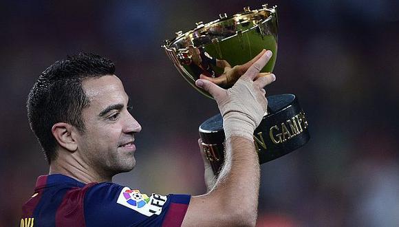 Xavi Hernández es uno de los jugadores emblema del Barcelona. (AFP)