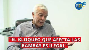 Carlos Galvez: El bloqueo que afecta Las Bambas es ilegal