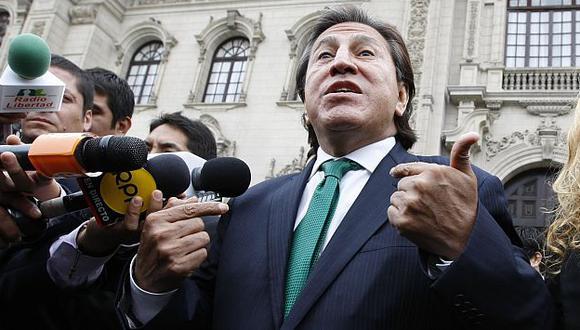 Defensa de Eva Fernenbug deja sin piso a Alejandro Toledo. (Luis Gonzales)