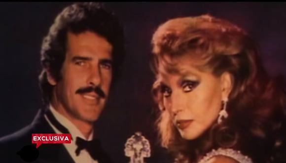 Andrés García y Sonia Infante se casaron en 1984, pero no vivieron juntos. El carácter de ambos acabó con la pasión que sentían el uno por el otro (Foto: TV Azteca)