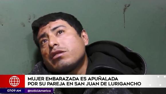 El agresor, identificado como Andrés García Hinostroza (30), fue detenido y llevado a la comisaría 10 de Octubre, en San Juan de Lurigancho. (América Noticias)