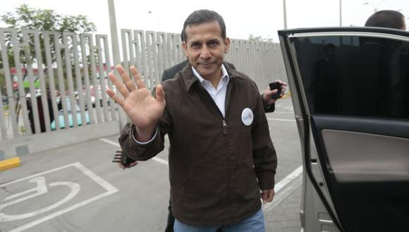 Ollanta Humala respondió sobre algunos temas de actualidad para dar tranquilidad, pero no hubo autocríticas. (César Fajardo)