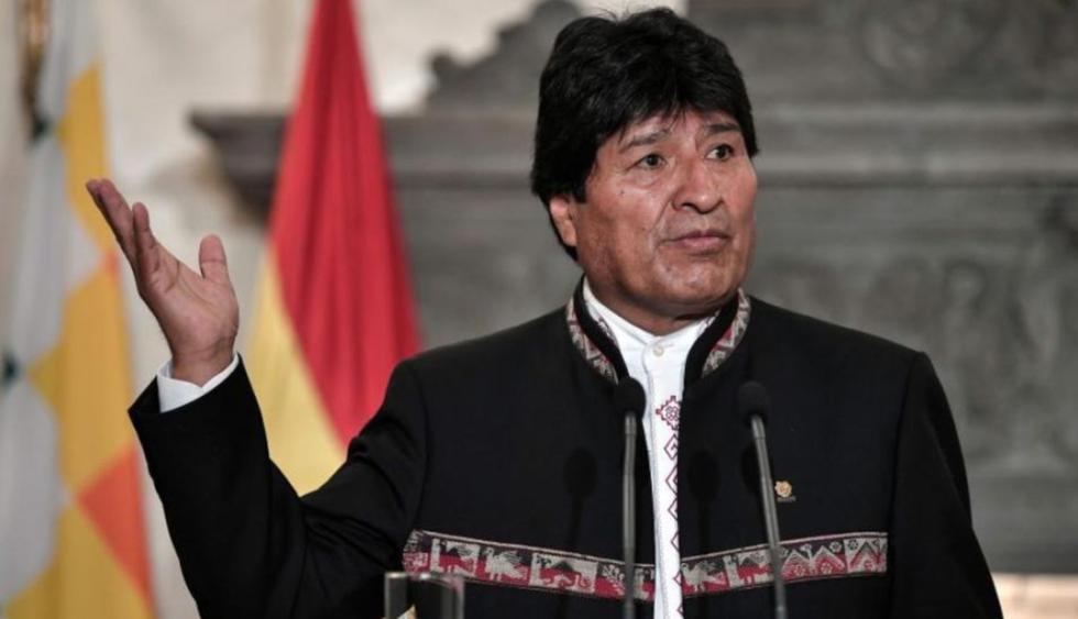 Evo Morales ofreció una conferencia en la Universidad de Ankara, donde resumió el desarrollo socioeconómico logrado por el gobierno desde su llegada al poder en 2006. (Foto: AFP)