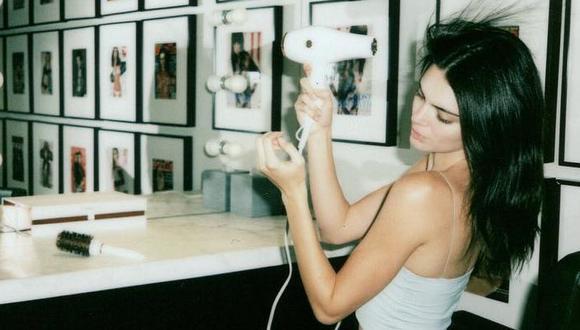 Kendall Jenner muestra una fotografía de su infancia.  (Foto: Instagram)